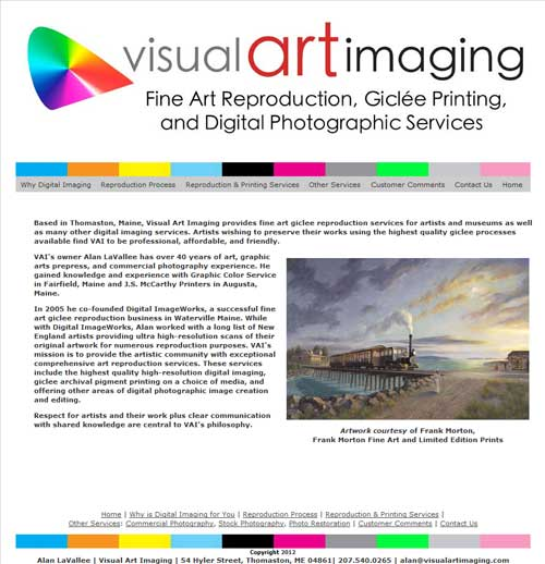 Visual Art Imaging
